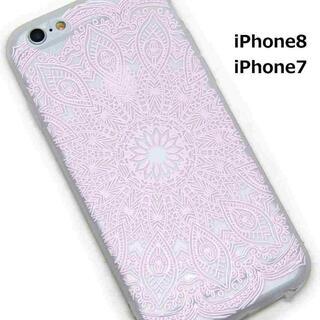 エレガント レース iPhoneケース ピンク //bi5(iPhoneケース)