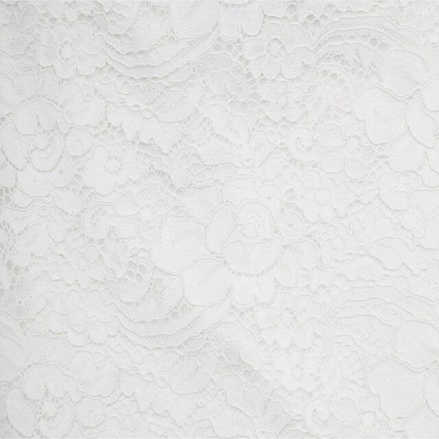 GU(ジーユー)のレースタイトスカート オフホワイト レディースのスカート(ひざ丈スカート)の商品写真