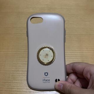 iface iphone8 iphone7 カフェラテ スマホリング 付き(iPhoneケース)