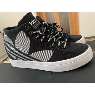 アディダス(adidas)のアディダス 美品 adidas 厚底 スニーカー  23.5 レディース (スニーカー)