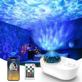 スタープロジェクターライト ベッドサイドランプ 星空投影ライト(プロジェクター)
