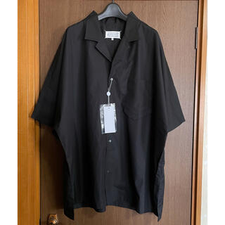 マルタンマルジェラ(Maison Martin Margiela)の40新品 メゾン マルジェラ アウトライン オーバーサイズ 半袖 シャツ メンズ(Tシャツ/カットソー(半袖/袖なし))