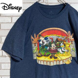 Disney - 90s 古着 ディズニー Tシャツ プリント ビッグシルエット ゆるだぼ