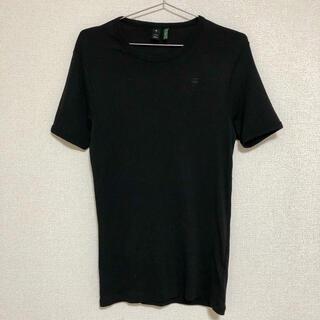 ジースター(G-STAR RAW)のG-STAR RAW ジースターロウ 半袖 ロゴTシャツ 黒 ブラック(Tシャツ/カットソー(半袖/袖なし))