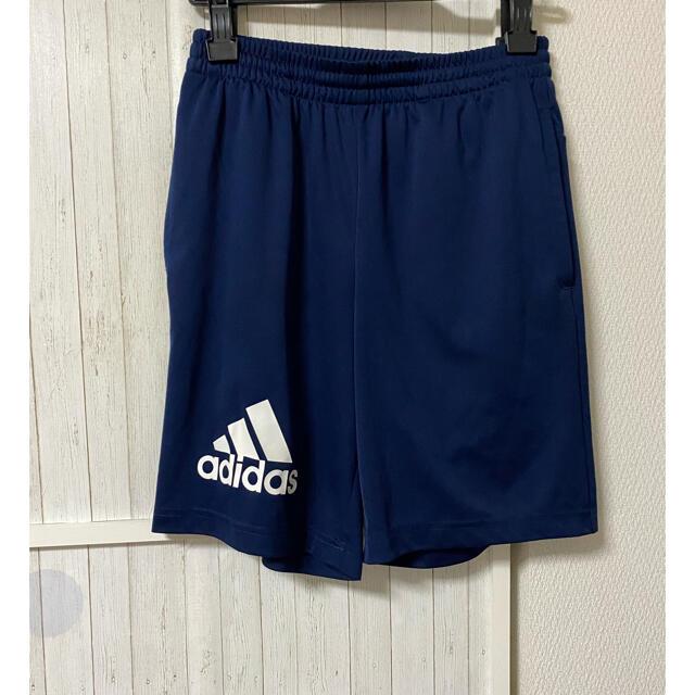adidas(アディダス)のアディダスハーフパンツ160cm キッズ/ベビー/マタニティのキッズ服男の子用(90cm~)(パンツ/スパッツ)の商品写真