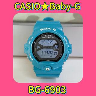 Baby-G - 【美品】CASIO/カシオ★Baby-G/G-SHOCK★BG-6903-2