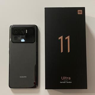 ANDROID - Xiaomi mi11 ultra セラミックブラック 12GB 256GB