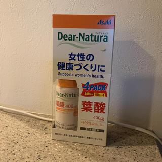 アサヒ(アサヒ)のディアナチュラ 葉酸 60粒 4pack  dear natura(その他)