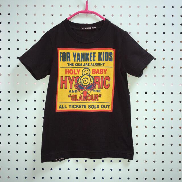 HYSTERIC MINI(ヒステリックミニ)のヒステリックミニ  ヤンキーTシャツ  100cm キッズ/ベビー/マタニティのキッズ服女の子用(90cm~)(Tシャツ/カットソー)の商品写真