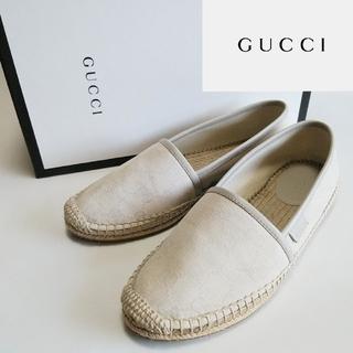 Gucci - 美品 GUCCI/グッチ エスパドリーユ/スリッポン GGキャンバス/スニーカー