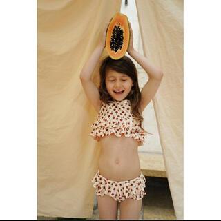 キャラメルベビー&チャイルド(Caramel baby&child )の新品タグ付き【Konges sloejd】MANUCA BIKINI  7-8y(水着)