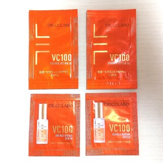 Dr.Ci Labo - ドクターシーラボ VC100 エッセンスローション 美容液 サンプルセット