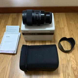 SIGMA - 【美品】SIGMA 35mm F1.4 DG SONY Eマウント用