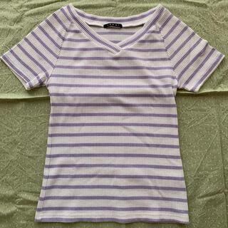 イング(INGNI)のイング Vネック Tシャツ カットソー (カットソー(半袖/袖なし))