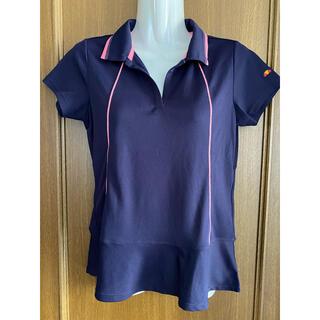 エレッセ(ellesse)のエレッセ  レディース テニスシャツ S 紫(ウェア)