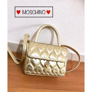 モスキーノ(MOSCHINO)のモスキーノ MOSCHINO ハートキルティング 2wayショルダーバッグ(ショルダーバッグ)