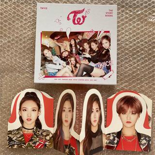 ウェストトゥワイス(Waste(twice))の【最終お値下げ】TWICE  CD  ①(K-POP/アジア)