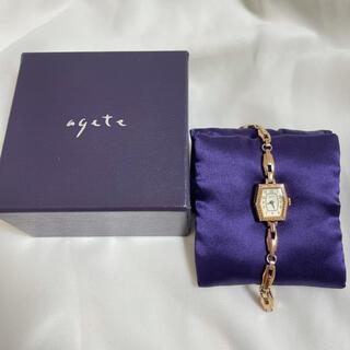 agete - agete アガット 腕時計 アンティーク ブレスレット