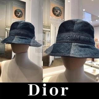 ディオール(Dior)のDior デニム バケットハット 帽子(ハット)