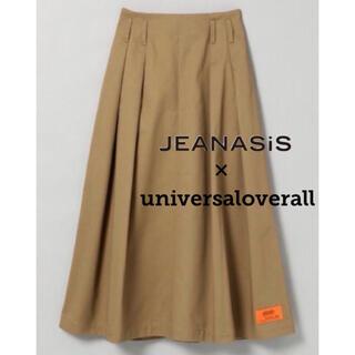 JEANASIS - 【別注JEANASIS×universaloverall】コラボロングスカート
