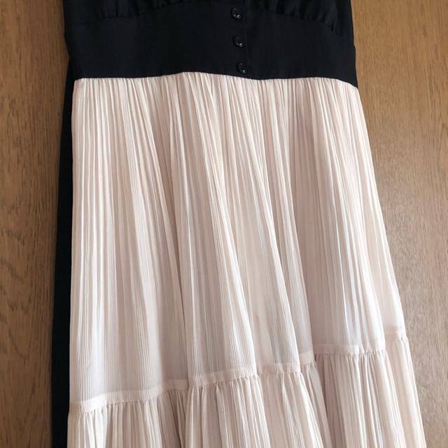 Rirandture(リランドチュール)のリランドチュール   NEWティアードプリーツワンピース サイズ2 レディースのワンピース(ロングワンピース/マキシワンピース)の商品写真