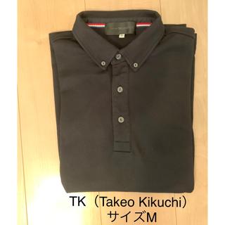 TK - TK(Takeo Kikuchi)七分丈 ポロシャツ
