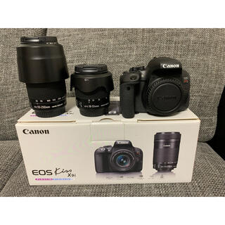 Canon - Canon EOS KISS X9i Wズームキット フード,フィルター付