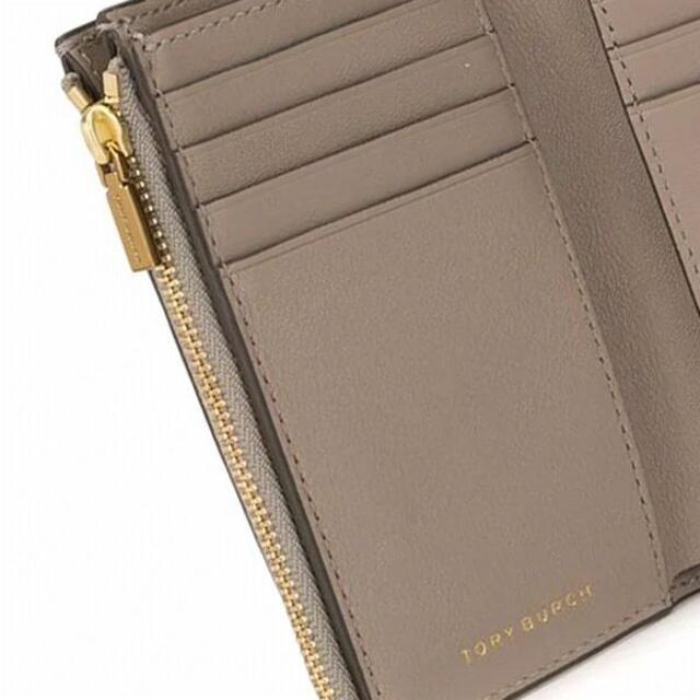 Tory Burch(トリーバーチ)の新品未使用 トリーバーチ 三つ折り財布 ブラウン レディースのファッション小物(財布)の商品写真