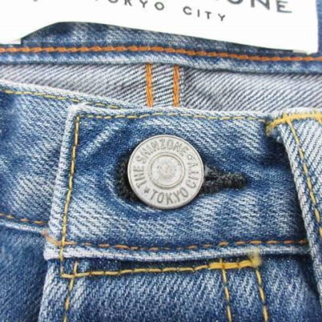 Shinzone(シンゾーン)のシンゾーン 18SS ジェネラルジーンズ デニムパンツ テーパード 32 S 青 レディースのパンツ(デニム/ジーンズ)の商品写真