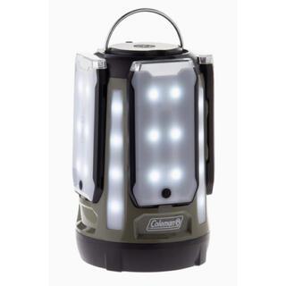 コールマン(Coleman)の新品未開封 コールマン 限定 クアッド マルチパネル LED ランタン オリーブ(ライト/ランタン)
