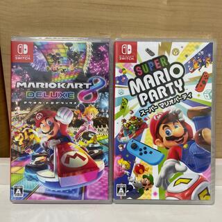 ニンテンドースイッチ(Nintendo Switch)の新品未開封2点セット(家庭用ゲームソフト)