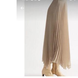 Mila Owen - mila owen フレアプリーツスカート
