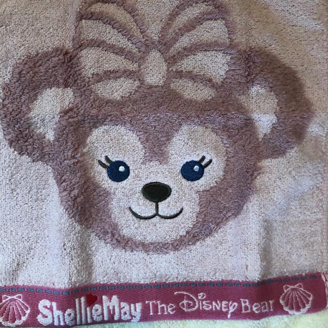 Disney(ディズニー)のシェリーメイハンドタオル ジェラトーニ ハンドタオル ダッフィーハンドタオル レディースのファッション小物(ハンカチ)の商品写真