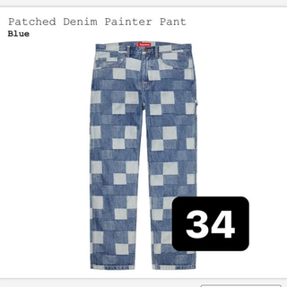 Supreme - supreme patched denim painter pant 34