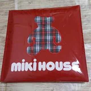 ミキハウス(mikihouse)のミキハウス アルバム チェックアップリケ ベアー(アルバム)