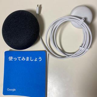 グーグル(Google)のGOOGLE HOME MINI CHARCOAL(その他)