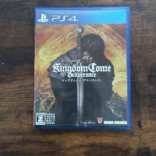 PlayStation4(プレイステーション4)のキングダムカム・デリバランス PS4 エンタメ/ホビーのゲームソフト/ゲーム機本体(家庭用ゲームソフト)の商品写真