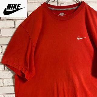 ナイキ(NIKE)の90s 古着 ナイキ Tシャツ 刺繍 スウォッシュロゴ ビッグシルエット(Tシャツ/カットソー(半袖/袖なし))