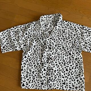 GRL - GRL ヒョウ柄 シャツ 半袖シャツ 柄