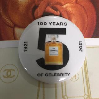 シャネル(CHANEL)の1点のみ❤︎CHANEL 缶バッジ n'5 100周年記念 激レア(バッジ/ピンバッジ)