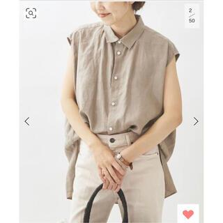 Plage - Linen ノースリビッグシャツ プラージュ