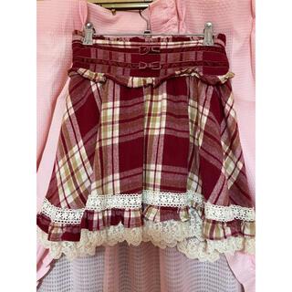 LIZ LISA - リズリサチェック裾フリルスカート