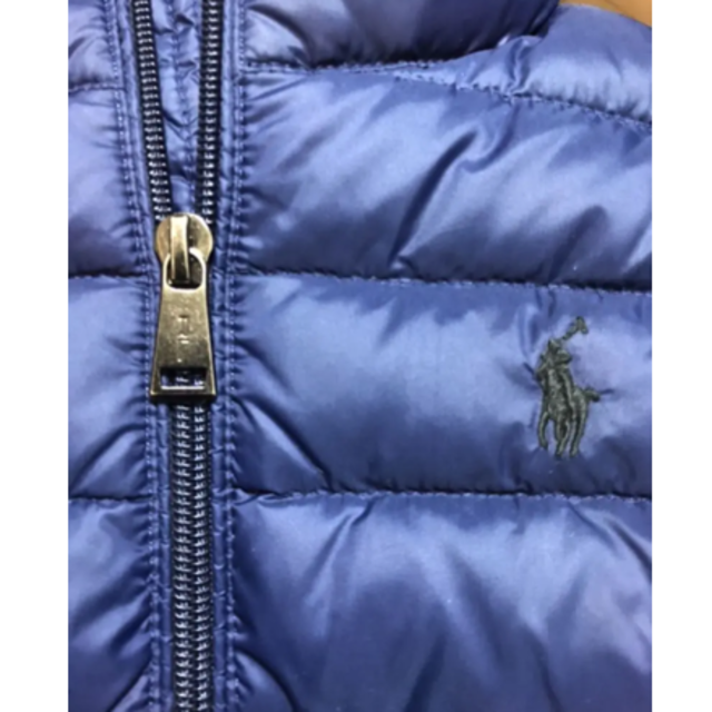 POLO RALPH LAUREN(ポロラルフローレン)のラルフローレン ダウンベスト S/P(8) キッズ/ベビー/マタニティのキッズ服男の子用(90cm~)(ジャケット/上着)の商品写真