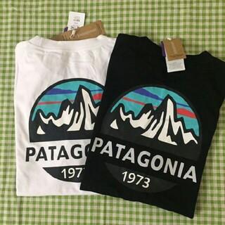 patagonia - 2枚Patagonia Tシャツ ブラック+ホワイトL