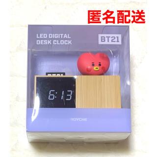 ボウダンショウネンダン(防弾少年団(BTS))のBt21 BTS デジタル 置き時計 ベビー TATA LED テテ(置時計)