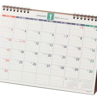 NOLTY C214 2021 卓上カレンダー(カレンダー/スケジュール)