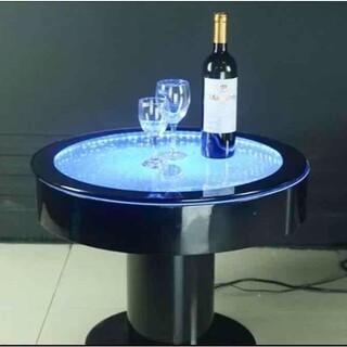 半額以下!定価55万!SNS映え アクアリウム バブル 水槽 テーブル(ローテーブル)