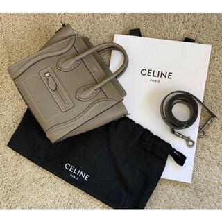 celine - CELINE ナノ ラゲージ バッグ スリ