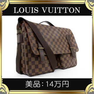 LOUIS VUITTON - 【真贋査定済・送料無料】ヴィトンのショルダーバッグ・正規品・美品・ブロードウェイ