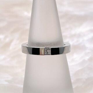 ハリーウィンストン(HARRY WINSTON)の★HARRY WINSTON★ プリンセスカット ダイヤ マリッジリング 1PD(リング(指輪))